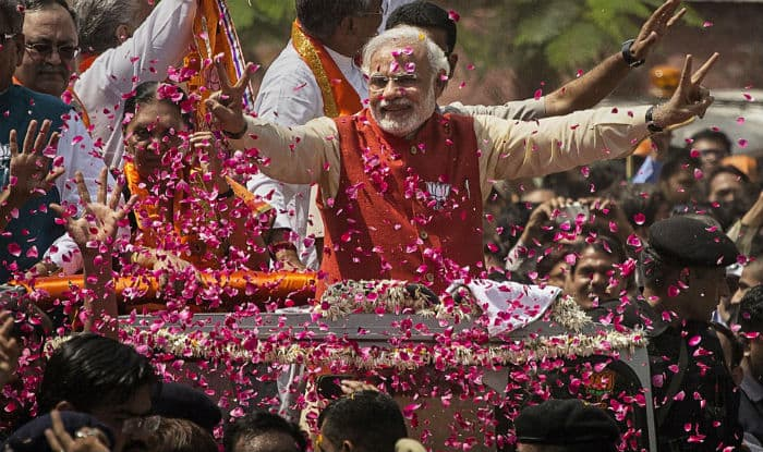 Image result for PM Modi election rally