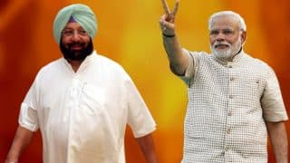 PM Narendra Modi congratulates Captain Amarinder Singh on taking oath as Punjab Chief Minister, tweets best wishes