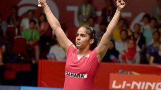 My knee still hurts when I play on the hard courts, says Saina Nehwal