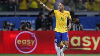 Neymar in Action as Brazil Take on Japan in International Friendly