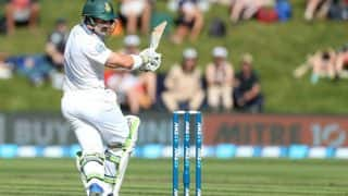 New Zealand vs South Africa 1st Test 2017: Proteas stumble as rain hovers
