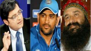 Padma nominations: Arnab Goswami, MS Dhoni, Ram Rahim among those turned down by government; Report
