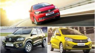 Tata Tiago AMT vs Renault Kwid AMT vs Maruti Celerio AMT - Feature, Specs and Price Comparison