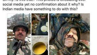 पाकिस्तान से ट्वीट की गई थी तेजबहादुर की मौत की झूठी तस्वीर