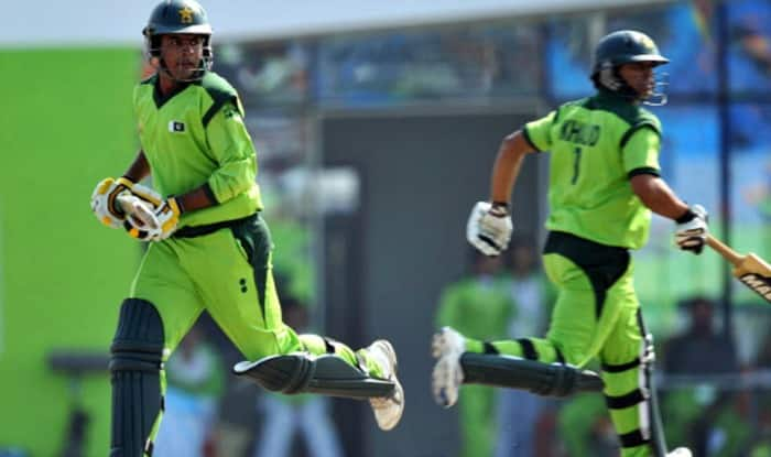 File photo of Sharjeel Khan and Khalid Latif | Getty Images