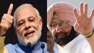 पंजाब चुनाव नतीजे LIVE : PM मोदी ने अमरिंदर को दी जीत और जन्मदिन की बधाई