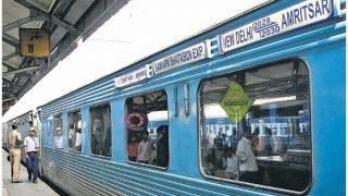 नहीं मिला मुआवजा, शताब्दी ट्रेन का मालिक बना किसान