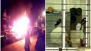 Mumbai: Mob allegedly sets police vehicles on fire, vandalises Trombay Police Station