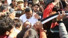 Rape-accused SP leader Gayatri Prajapati arrested | गायत्री प्रजापति को 14 दिन की जेल, बोले- घटना का हो नार्को टेस्ट