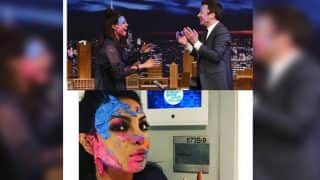 When Priyanka Chopra celebrated Holi with Jimmy Fallon and beat those homesick vibes with a bang! View Pics!