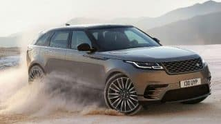 Range Rover Velar officially introduced; to launch in summer 2017