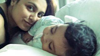 Rani Mukerji BLAMES hubby Aditya Chopra for not sharing daughter Adira's pictures with fans (Watch video)