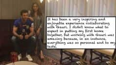 Ranbir Kapoor thanks Gauri Khan forbringing his first home together with this heartfelt message