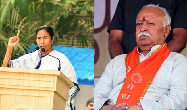 RSS attacks Mamata Banerjee Govt again