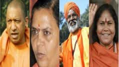 Yogi Adityanath and other saffron leaders present in Indian politics