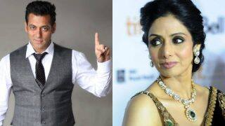 Salman Khan confirms Sridevi has done more work than the Khans of B-town