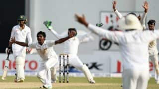 Spinners help Sri Lanka restrict Bangladesh to 214/5 in second Test