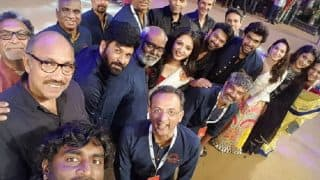 Baahubali 2 audio pre-launch: SS Rajamouli, Prabhas, Rana Daggubati, Anushka Shetty and Karan Johar made the event memorable with a grand selfie (See HQ pictures)