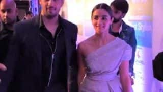 Alia Bhatt and Sidharth Malhotra make their relationship official by walking hand in hand(Watch video)