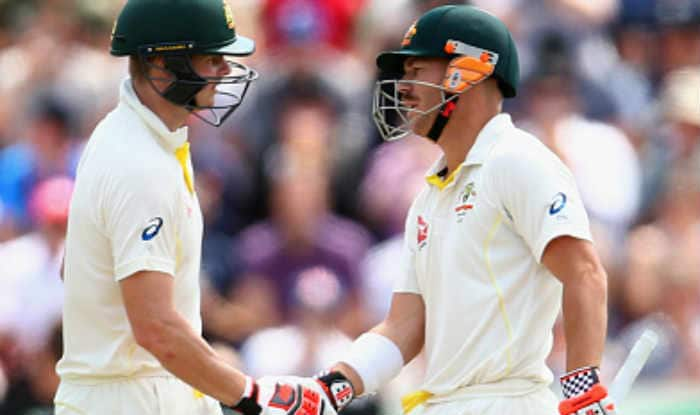 File picture of David Warner and Steve Smith.