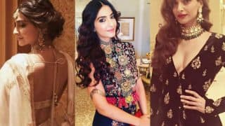Sonam Kapoor attends cousin Akshay Marwah's lavish wedding in Abu Dhabi, makes 3 exquisite style statements!