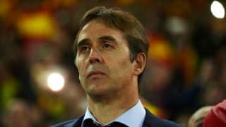 Coach Julen Lopetegui names Spain football squad for World Cup qualifier