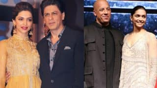 Deepika Padukone was asked to pick between Shah Rukh Khan and Vin Diesel and here's what she said