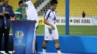 Qualifying for Asian Cup is real benchmark: Sunil Chhetri