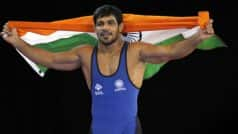 Sushil Kumar Wins Gold at Commonwealth Wrestling Championships
