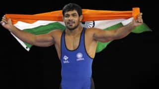 India at CWG 2018: Sushil Kumar Wins Gold in Men's Freestyle 74 kg Category