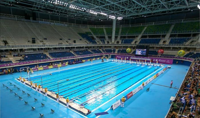 Indian swimmers win 47 medals at asian aquatic for Otto swimmingpool