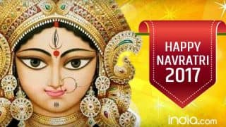 Navratri 2017 Wishes in Hindi: Best Quotes, SMS, WhatsApp GIF image Messages, Facebook Status to wish Shubh Chaitra Navaratri festival