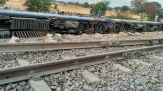 UP: 8 coaches of Mahakaushal express derailed, 22 injured; Yogi Adityanath directs SN Singh to visit site