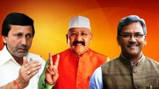 Uttarakhand CM race heats up, BJP leaders Trivendra Rawat, Prakash Pant, Satpal Maharaj in the running