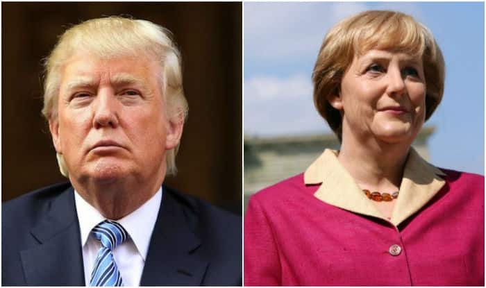 Donald Trump, Angela Merkel put aside past differences; discuss terrorism, NATO