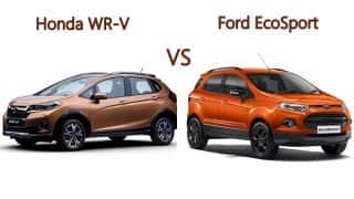 Honda WR-V vs Ford EcoSport; price, specifications & features comparison