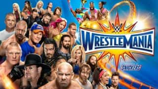 WWE Wrestlemania 33 matches: Here is a look at updated match cards of Wrestlemania 2017