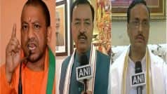 UP Cabinet 2017: Yogi Adityanath keeps Home; Keshav Prasad Maurya gets PWD; Dinesh Sharma given higher education ministry