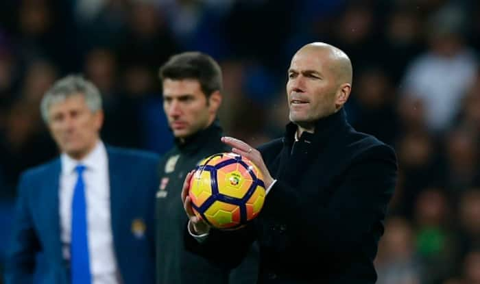 Zinedine Zidane on Real Madrid's Jaurary transfer business