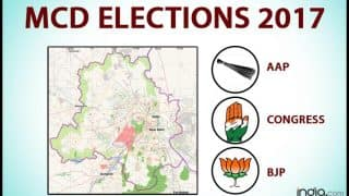 MCD Election Exit Poll Results 2017 by Chanakya