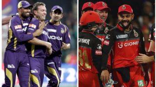 IPL 2017: कोलकाता नाइटराइ़डर्स और रॉयल चैलेंजर्स बैंगलोर में मुकाबला, यहां से देख सकते हैं मैच का सीधा प्रसारण