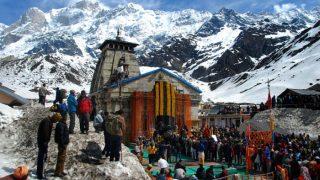 उत्तराखंड: बद्रीनाथ और केदारनाथ में बर्फबारी, 36 घंटों के लिए अलर्ट जारी