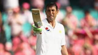 Younis Khan joins 10000 Test runs club as Pakistan end day three on 201/4