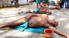 Tamil Nadu farmers protesting at Jantar Mantar to drink urine today, vow to eat human faeces if govt ignores demands