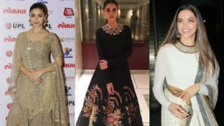Alia Bhatt, Deepika Padukone and Aditi Rao Hydari stunned us in Sabyasachi outfits this week!