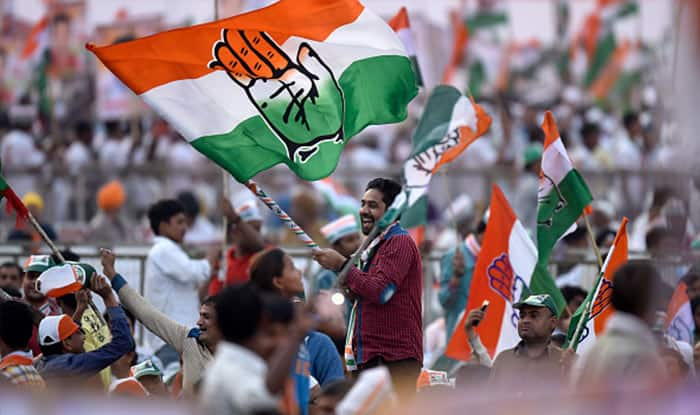 Congress released a list of 77 candidates.