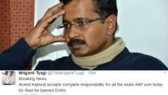 MCD Election 2017 Results makes AAP the butt of jokes! Twitter trolls Arvind Kejriwal on defeat