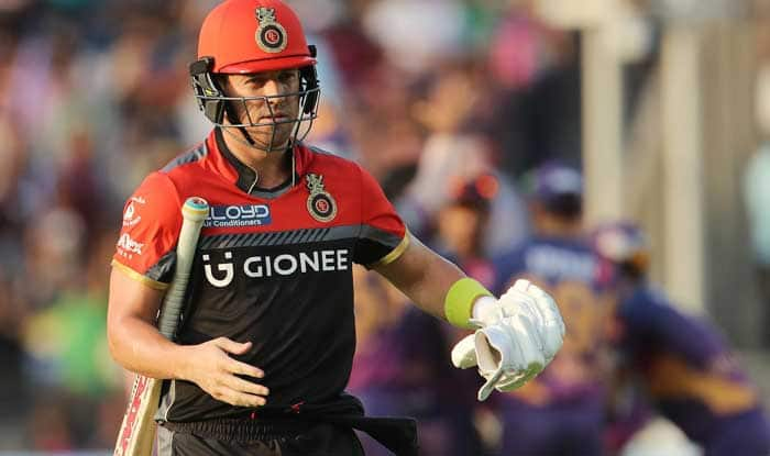 IPL 2018: De Villiers reveals RCB dressing room morale after KKR defeat