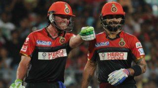 AB de Villiers Says he Likes Batting With RCB Captain Virat Kohli