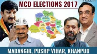 MCD Election results 2017: BJP secures Madangir, Pushp Vihar and Khanpur ward
